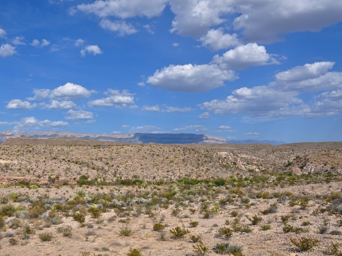 Seeing Mexico–United States borde in Big Bend NP, TX