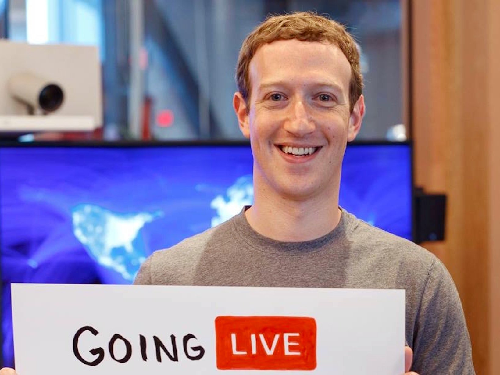 "Zuckerberg Says Facebook is ""Going to Become Video First"""