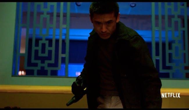 Murakami is a dangerous new adversary in 'The Defenders.'