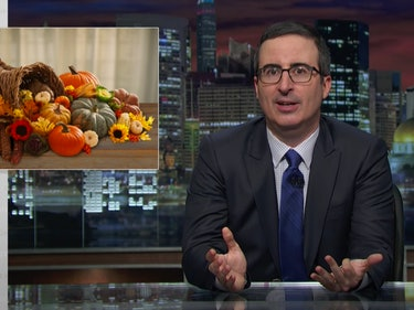 John Oliver Wants to Ban 'Obnoxiously Folksy' Gourds