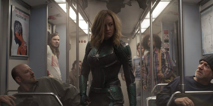 'Captain Marvel' train