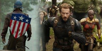 Captain America new shield