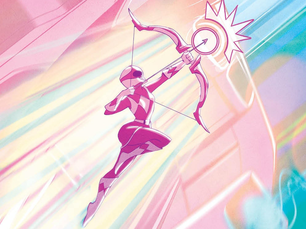 Kimberly Has Left The Power Rangers