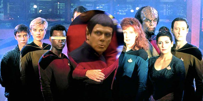 'The Next Generation' but, without Picard