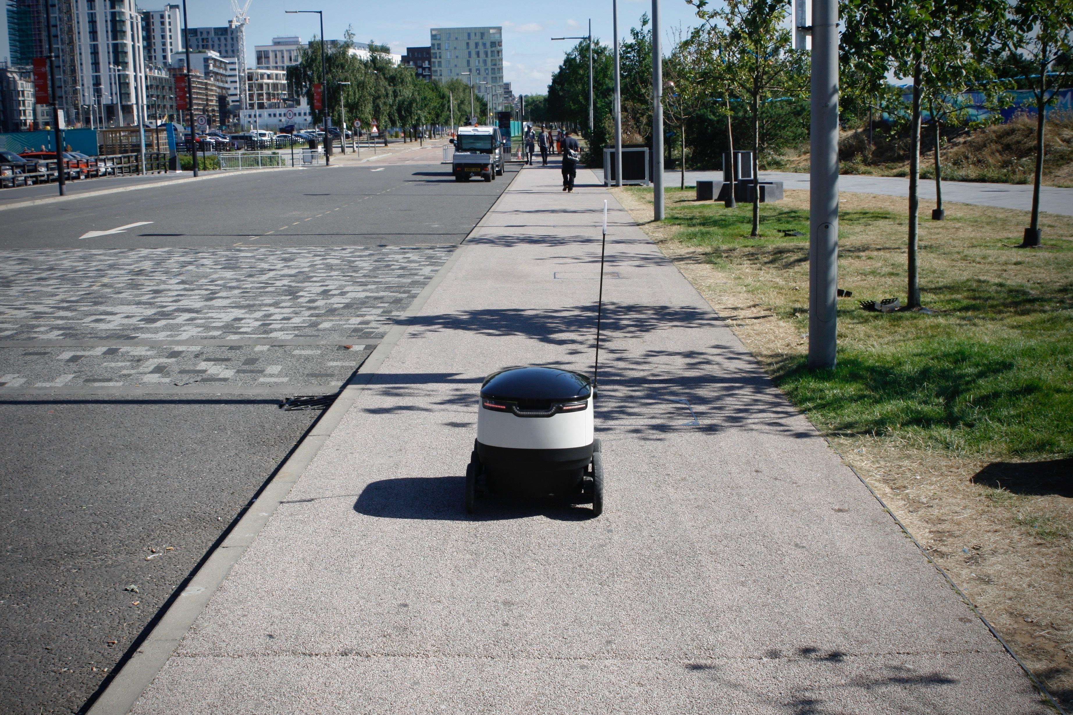 Starship's delivery robot is one of the other ways companies are seeking to change home delivery.
