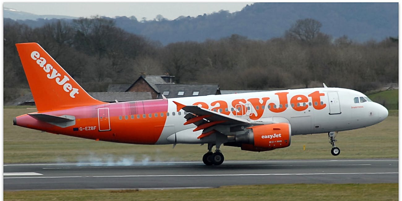 EasyJet at Manchester Airport