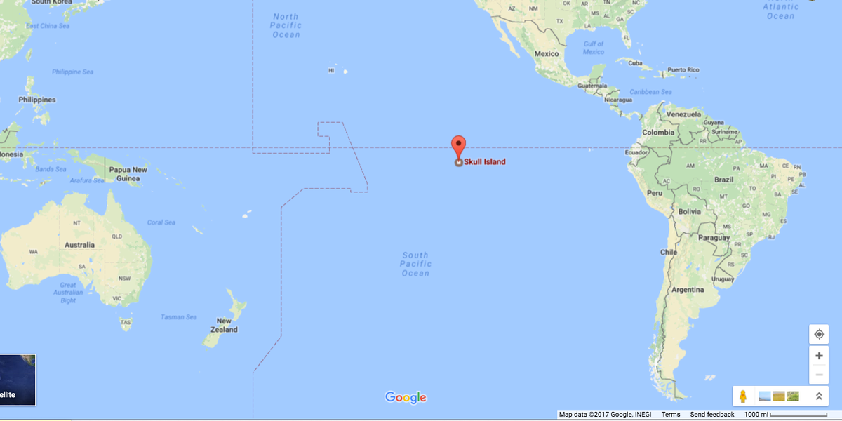 Google Maps South Pacific Islands