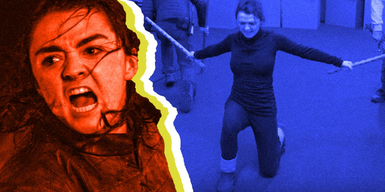 Arya Stark Battle of Winterfell Filipino Martial Arts