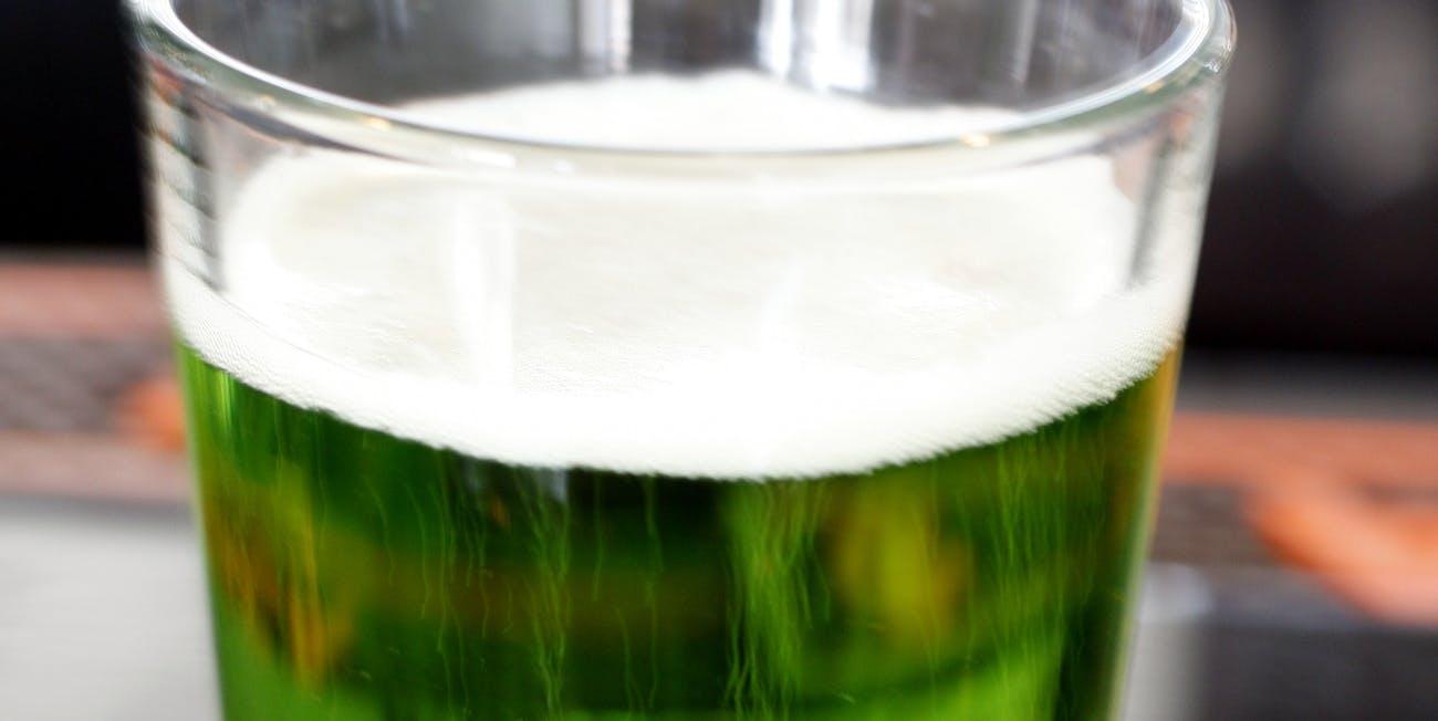 Green Beer Making Food Coloring Dye