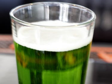 Green Beer Making Food Coloring Dye