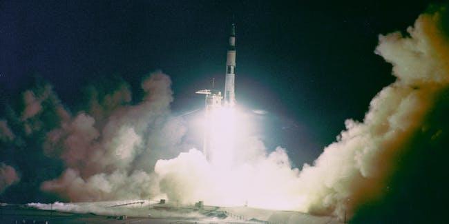 Apollo 17 Night Launch