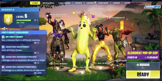 Fortnite Season 8 Battle Pass Overview Skins Pets And