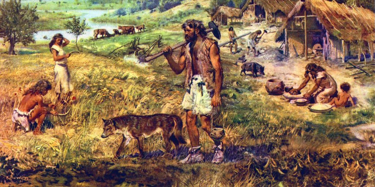 The end of the Neolithic period is when humans first started make wine, according to new research.