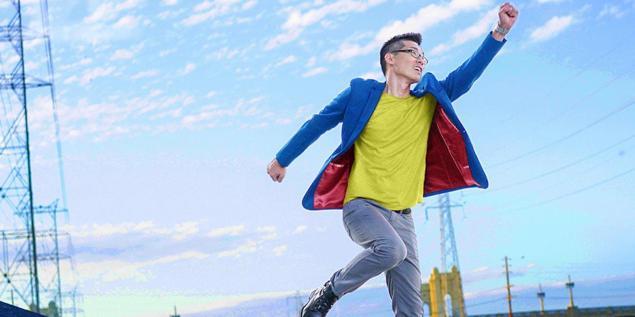 Tony Kim Hero Within Clothes