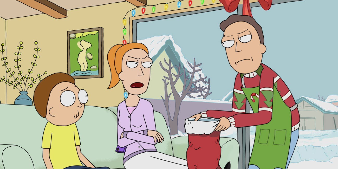 Rick And Morty Christmas.Rick And Morty Season 4 Christmas Episode Teased At San