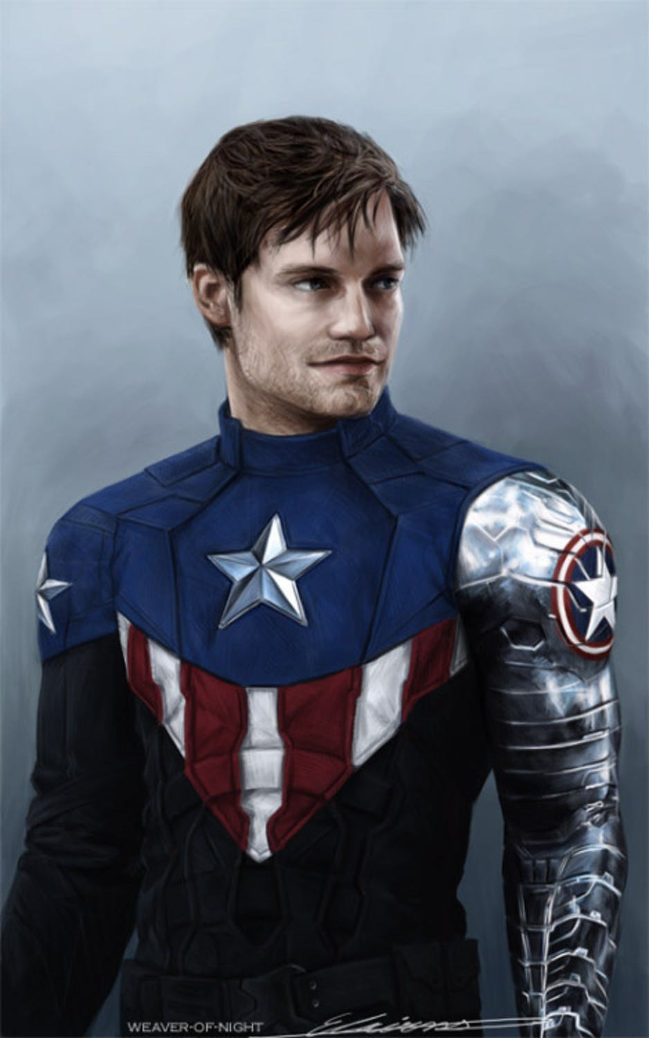 Fans are already excited to see Bucky take up Cap's shield.