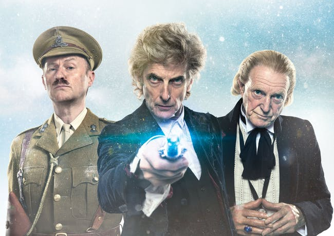 """Right now, Mark Gatiss is known only as """"The Captain."""""""