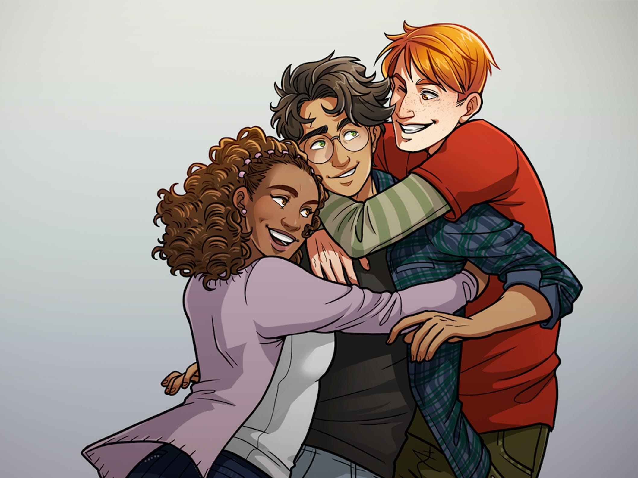 Harry Potter' Fan Art Looks to Diversify J K  Rowling's Work