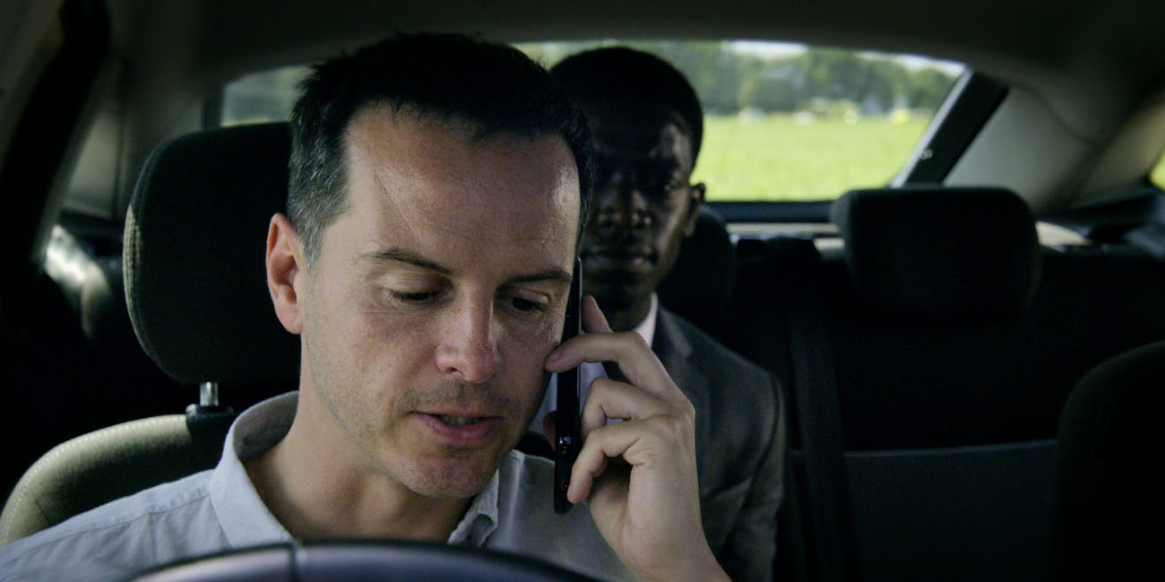 "Andrew Scott in ""Smithereens"" in 'Black Mirror' Season 5"