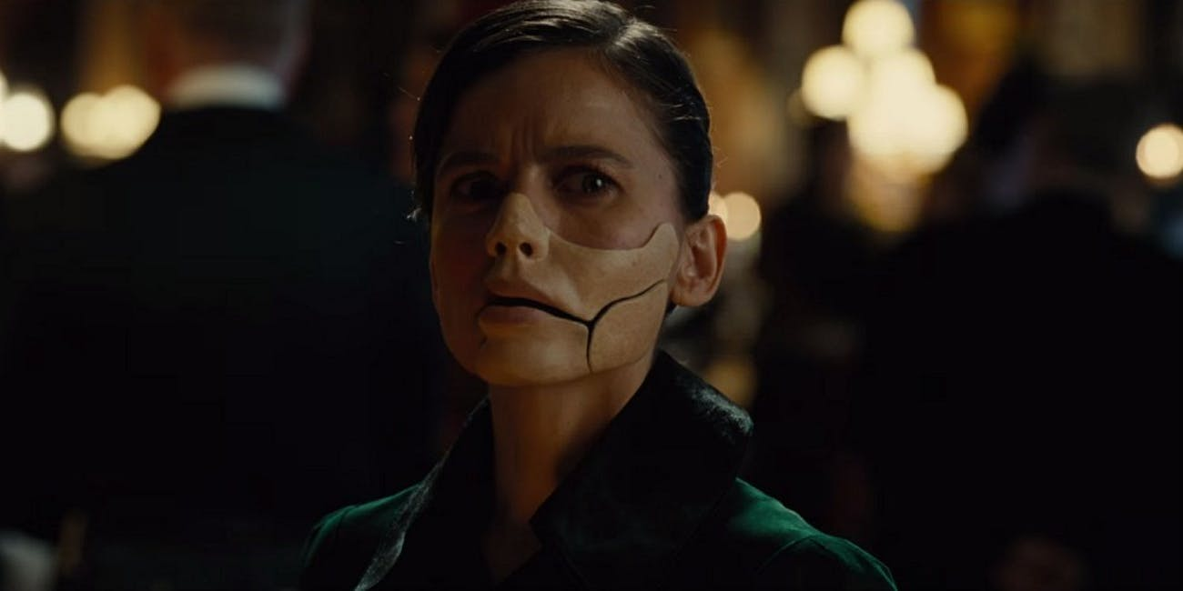 Elena Anaya as Masked Woman in Wonder Woman 2017