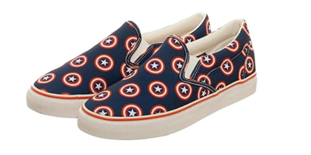Marvel Captain America Unisex DEK Shoes