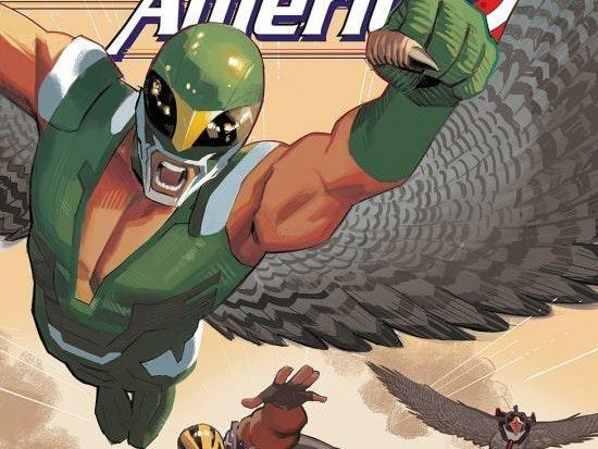 Cover for Sam Wilson Captain #17