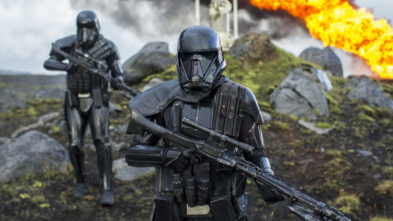 Death Troopers in 'Rogue One.'