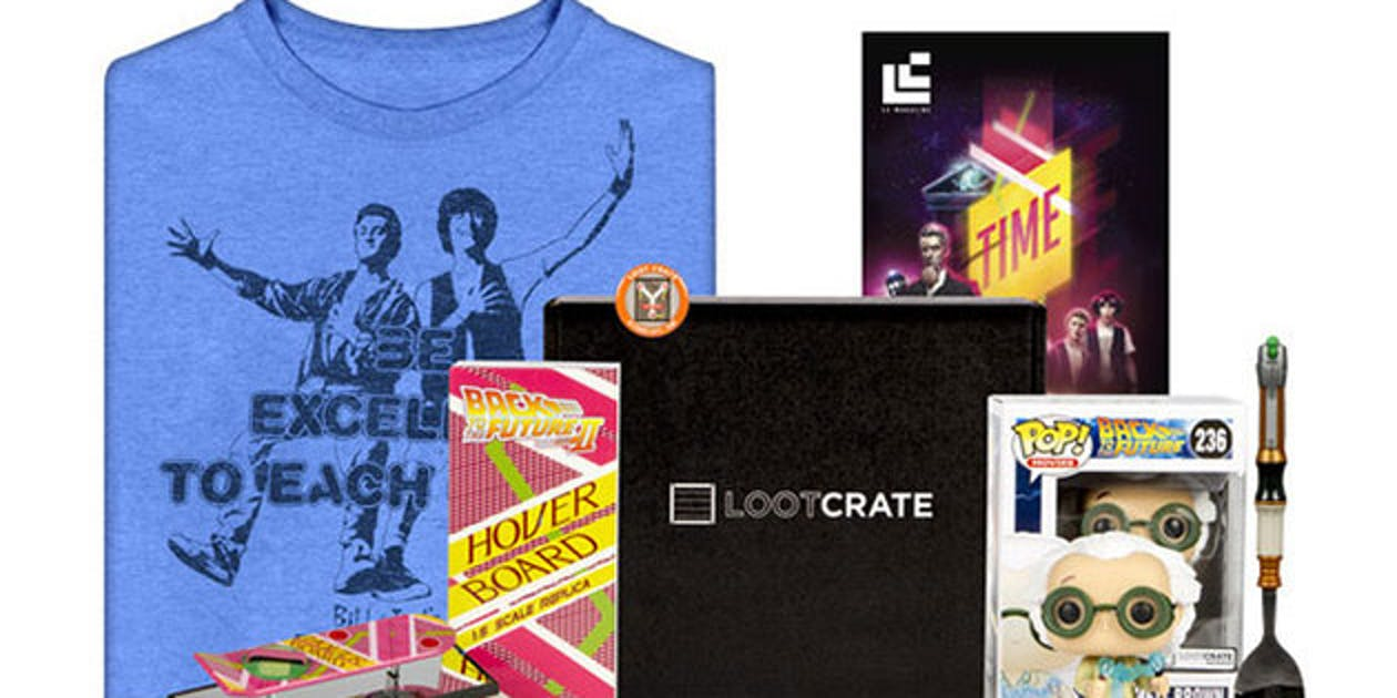 Loot Crate Gaming and Comics Merch