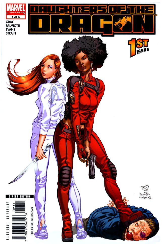 Daughters of the Dragon Luke Cage Iron Fist Netflix