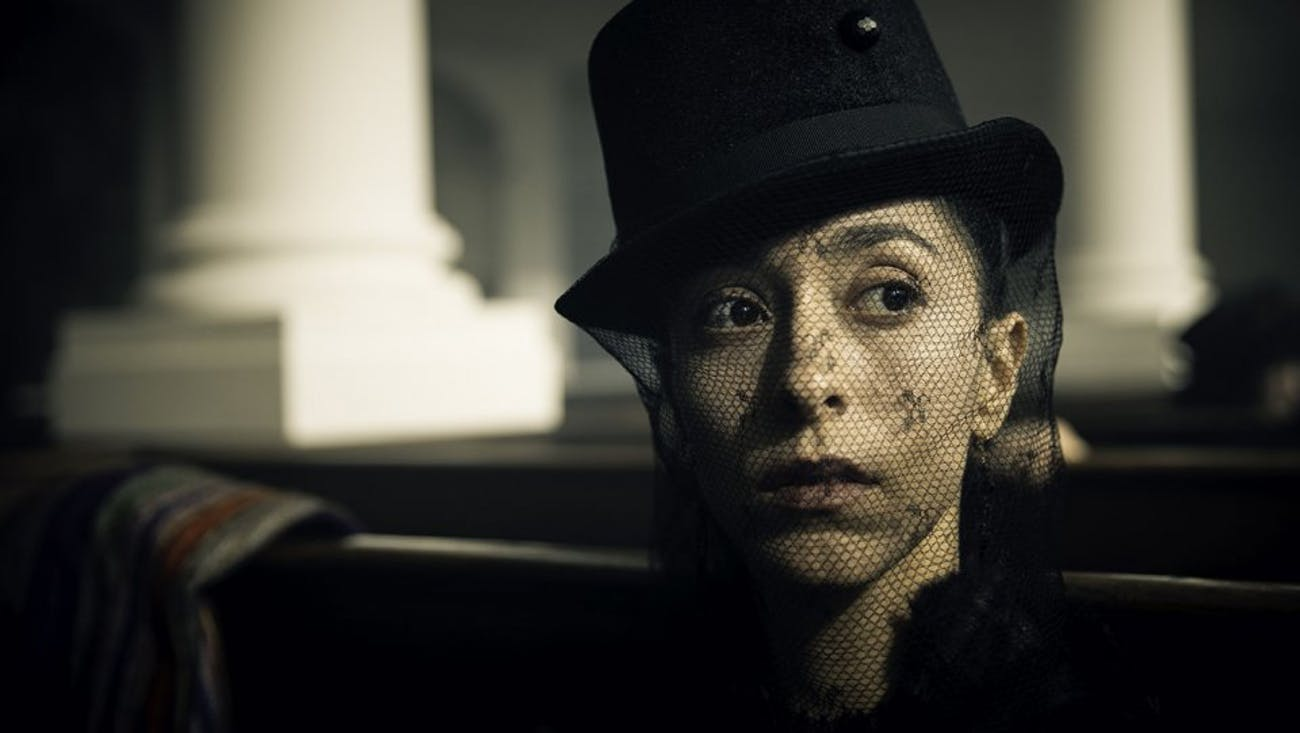 Oona Chaplin as Tom Hardy's sister