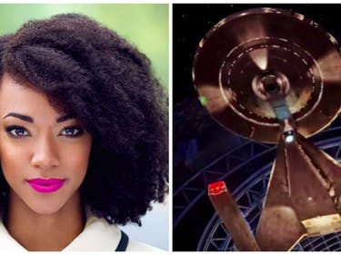 Number One on 'Star Trek: Discovery' Is Sasha From 'Walking Dead'