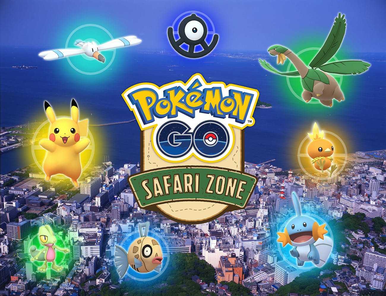 Pokemon GO Safari Zone Yokosuka