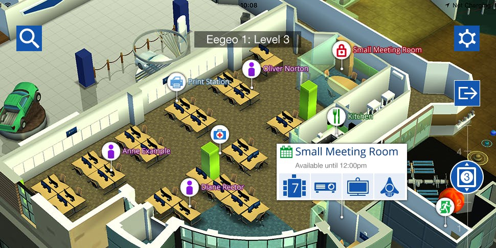 interior planning mapping business