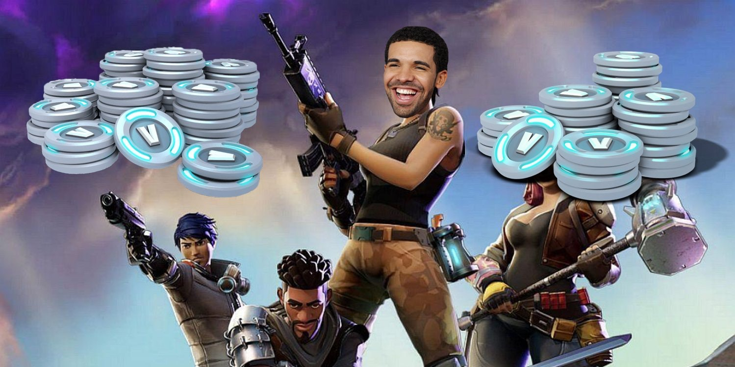 Drake And Ninja Fortnite Stream Rapper Paid 5 000 After A Bet