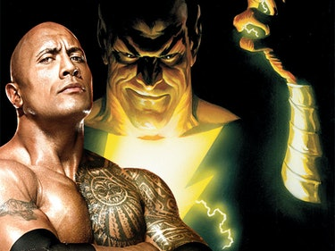 """The Rock Reveals New Details About His """"Awesome"""" Black Adam Movie"""