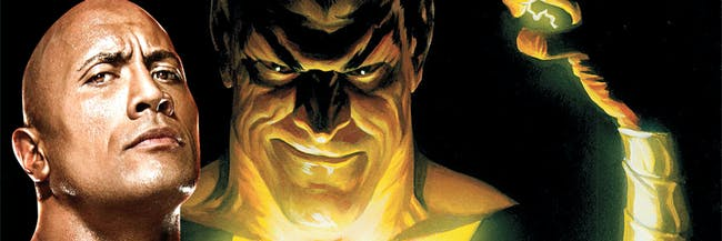 Black Adam Rock Dwayne Johnson