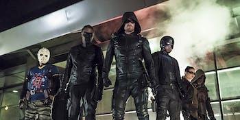 Team Arrow Artemis Wild Dog Season 5