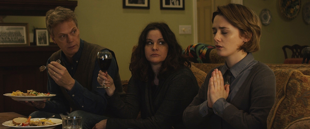 Addison Timlin, Ally Sheedy, and Peter Hedges in 'Little Sister'