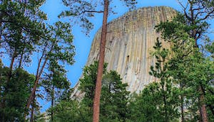Devils Tower Wyoming Flat Earth No Forests