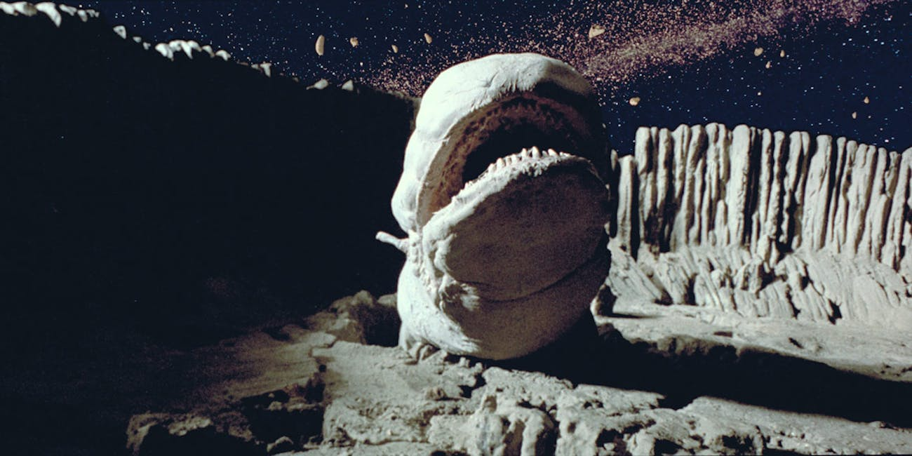 worm asteroid empire strikes back