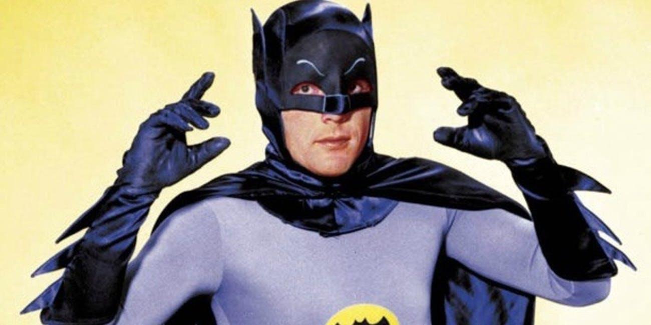 Adam West as Batman in the 1960s TV Series