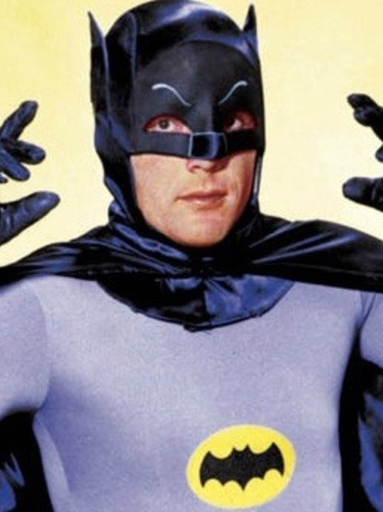 Adam West as Batman in the 1960s TV Series