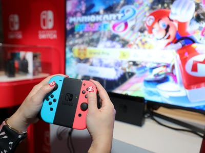The Nintendo Switch Feels Good