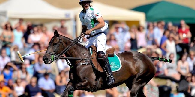 Adolfo Cambiaso rides cloned horses.