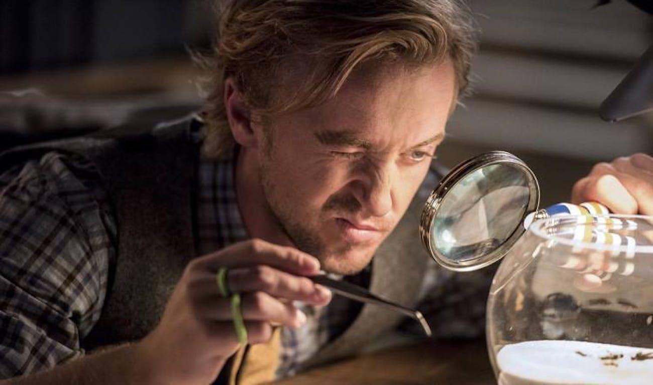 Tom Felton as Julian Albert in Season 3 of 'The Flash.'
