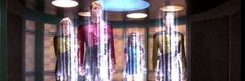 The transporters in Star Trek are actually kind of horrific.