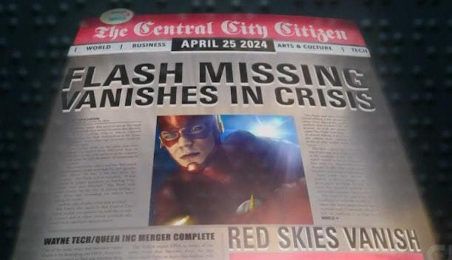 The Flash Batman Wayne Tech