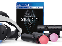 Sony PlayStation VR headset PSVR Skyrim bundle