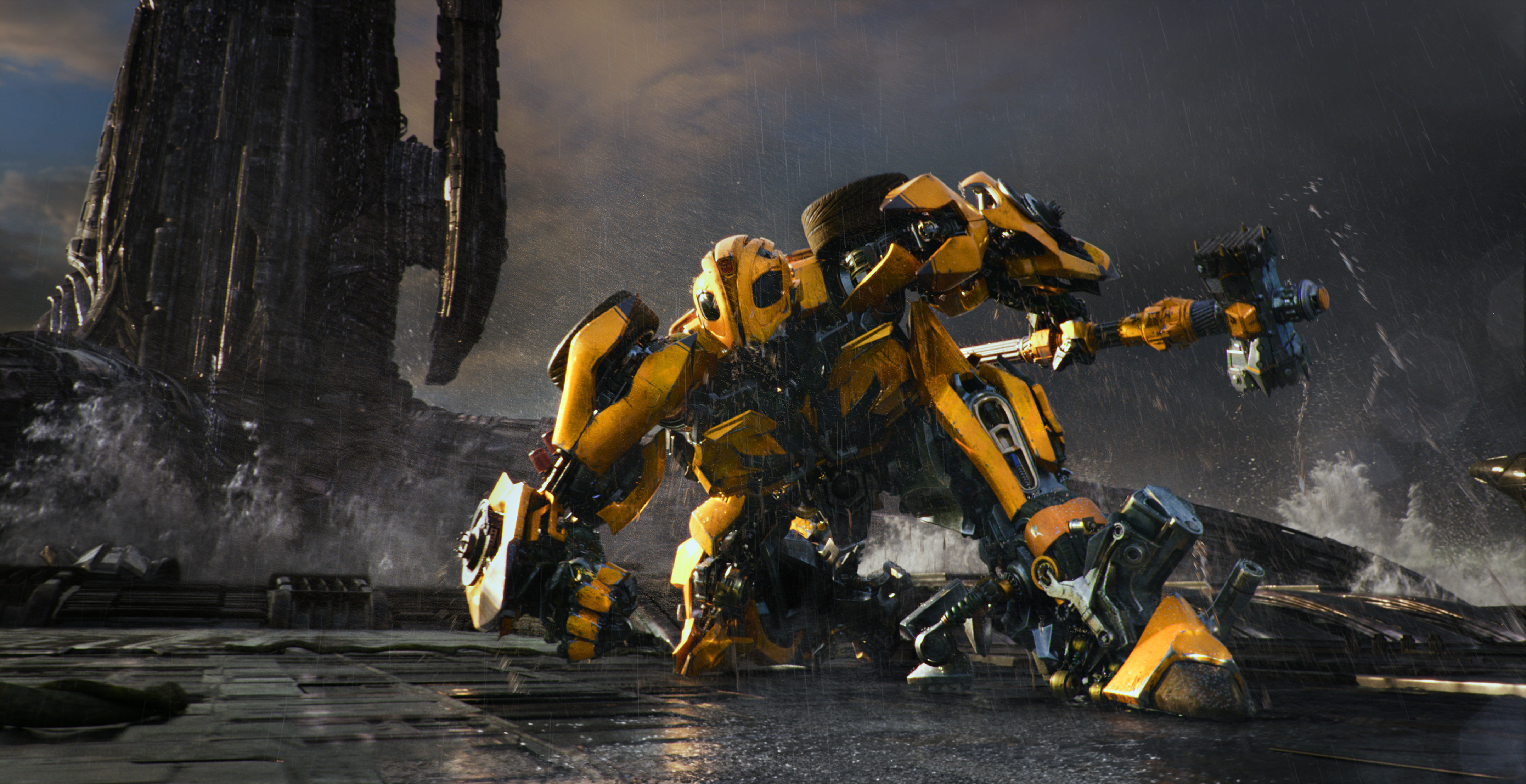 In 'The Last Knight,' round 5 for the Transformers