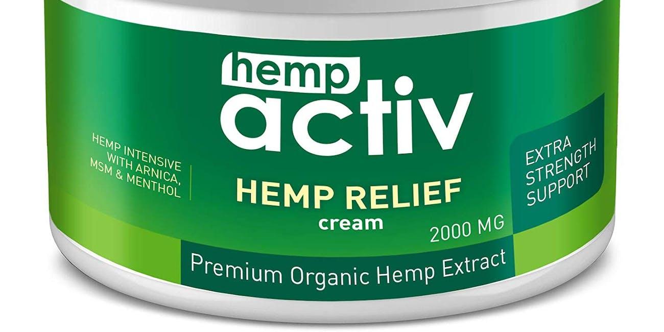 HEMPACTIV Hemp Pain Relief Cream 2000mg